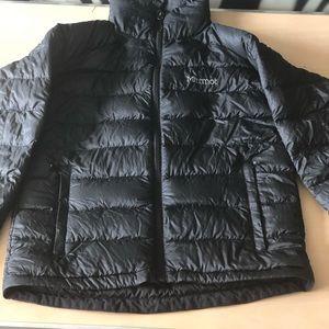 Men's Marmot bubble coat